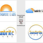 "Pharmaceutical Labs ""Sunbrite Labs"" Logo Concept"