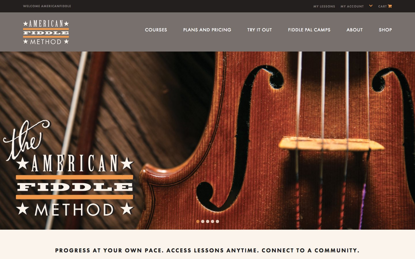 American Fiddle Method - Website - 1