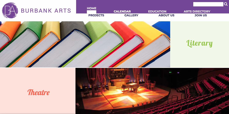 Burbank Arts - Website - 1