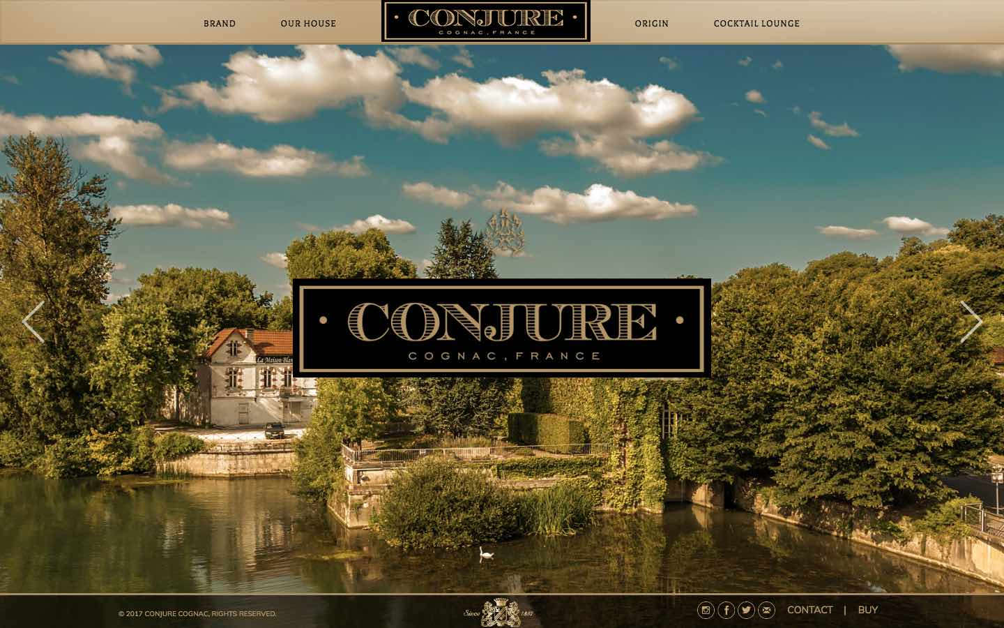 Conjure Cognac - Website - 2