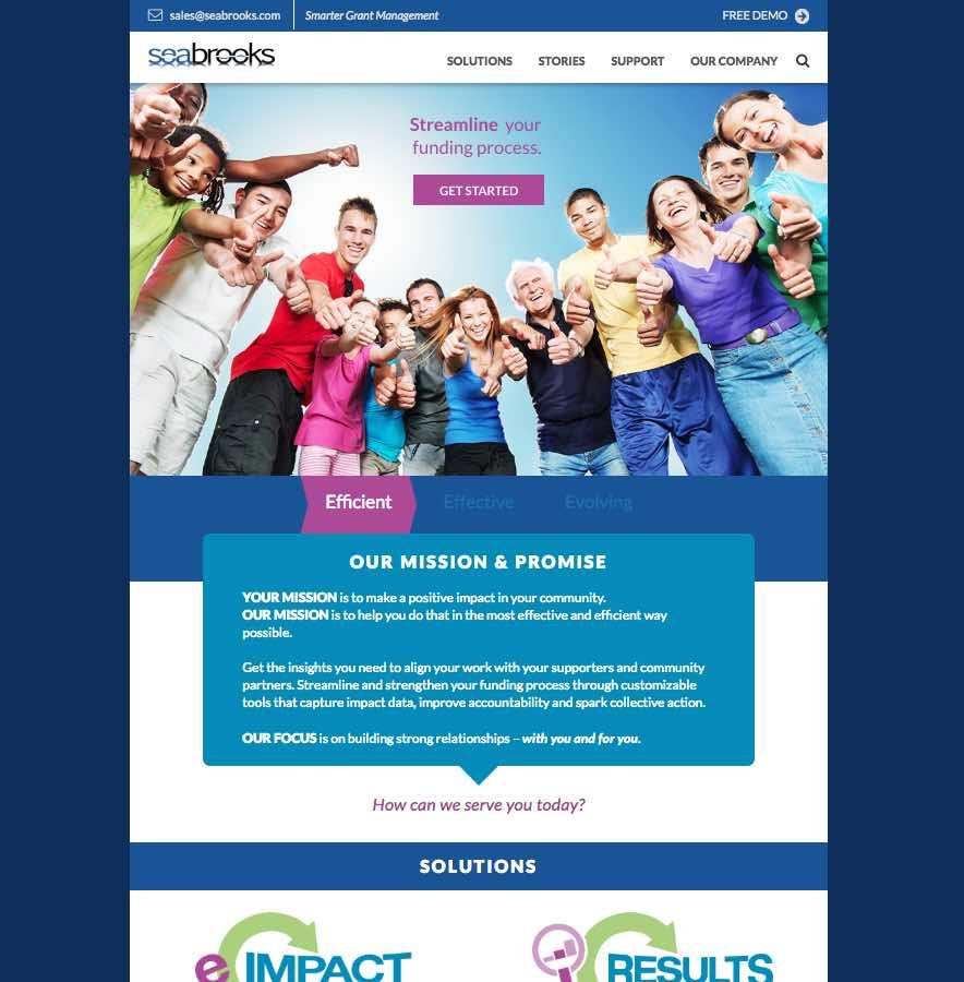 SeaBrooks - Website - 1